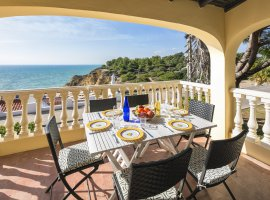 Dakterras met 180 graden uitzicht op de Oceaan, Villa Ca El Mar
