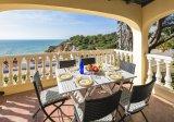 Dachterrasse mit 180 graden blick auf den Ozean, Villa Ca El Mar