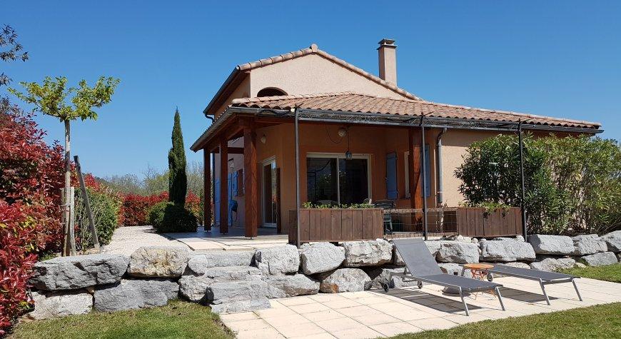 Villa Bellevue achterzijde
