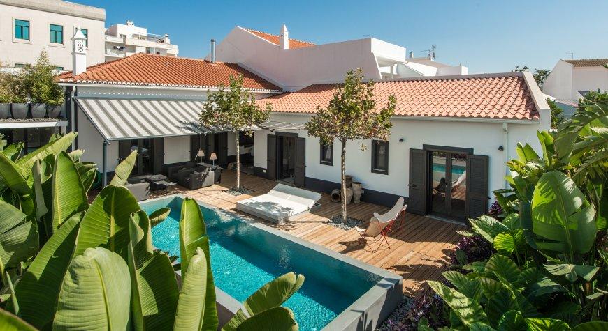 Casa Bonton uitzicht op de tuin